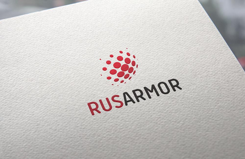 Разработка логотипа технологического стартапа РУСАРМОР фото f_8505a0dc1b8017b8.jpg