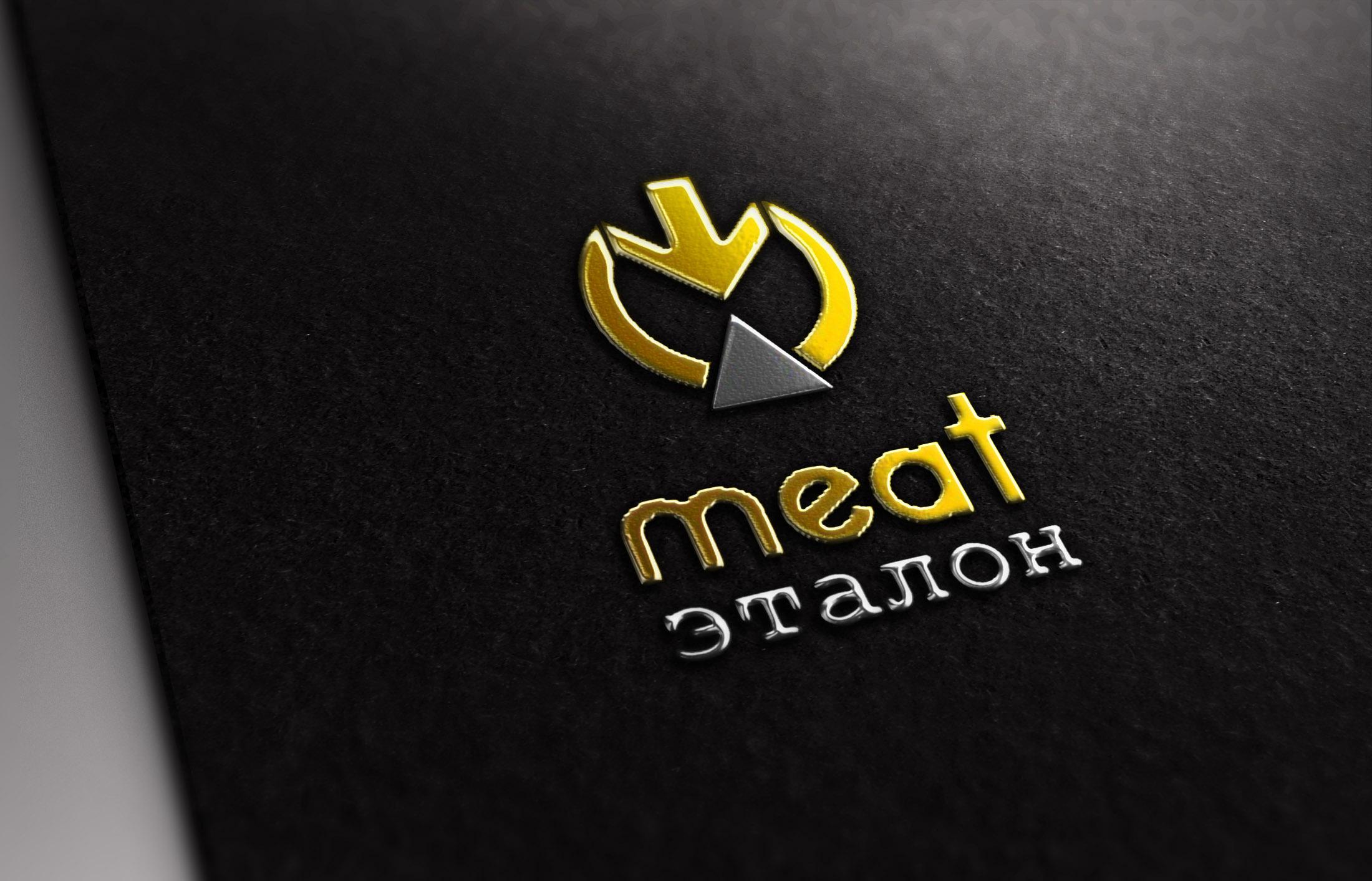 Логотип компании «Meat эталон» фото f_4615703c12655292.jpg
