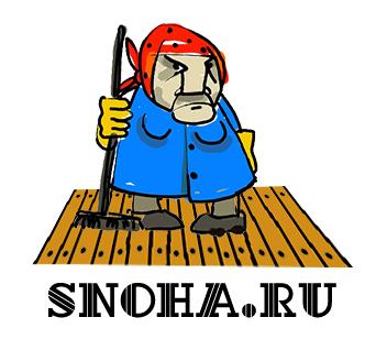 Логотип клининговой компании, сайт snoha.ru фото f_60554b0e895195a4.jpg