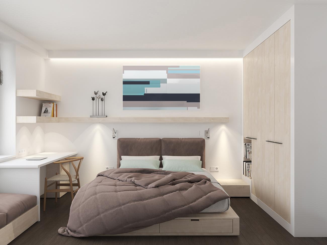 70% white  (трехкомнатная квартира)