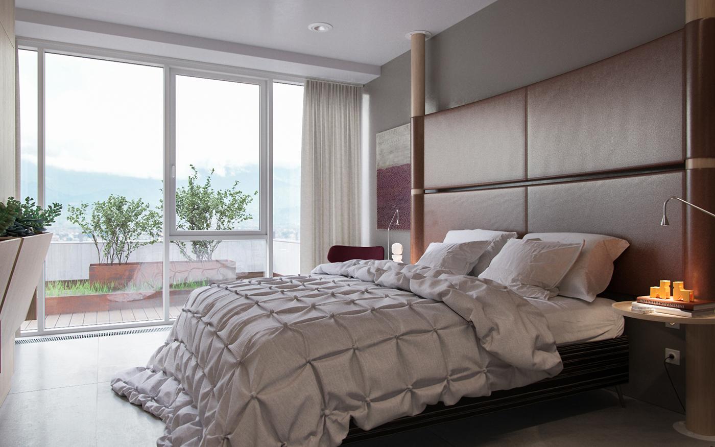 CANDY 120 кв.м  спальня