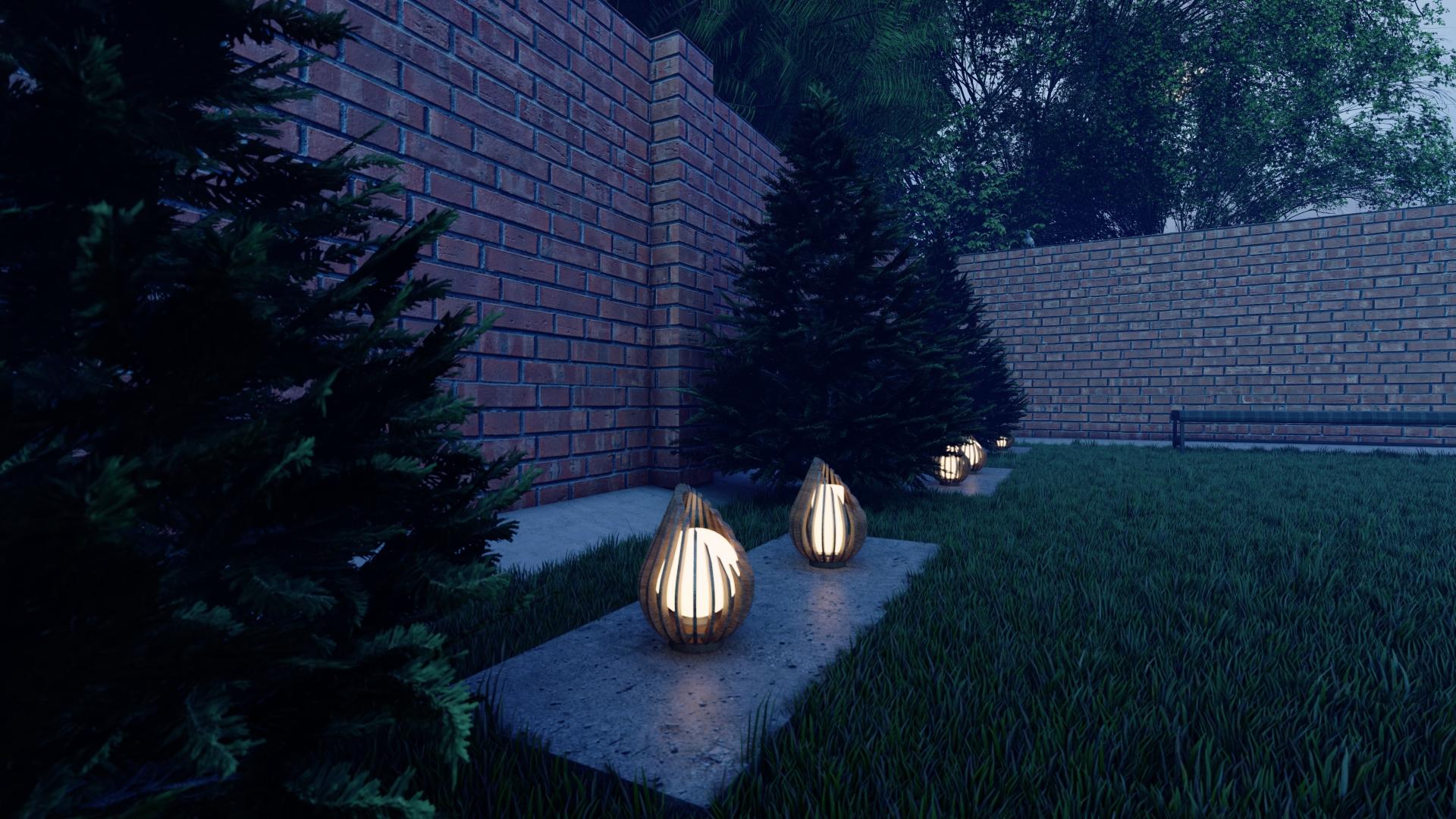 Разработка и проектирование дизайна уличных светильников