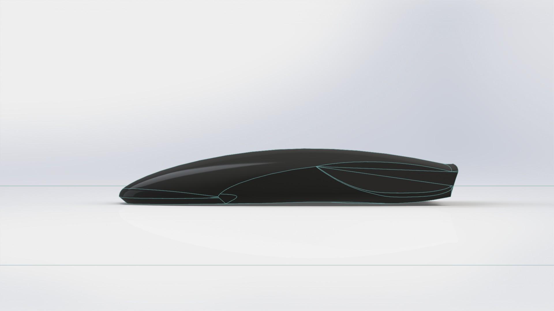 Модели с экспериментальным дизайном бокса для автомобиля