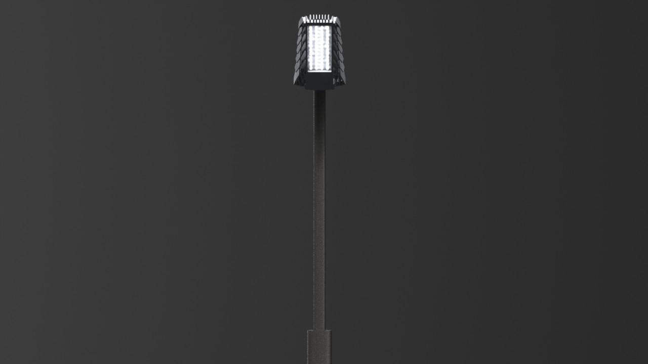Доработка дизайна уличного фонаря по ТЗ заказчика для последующего литья