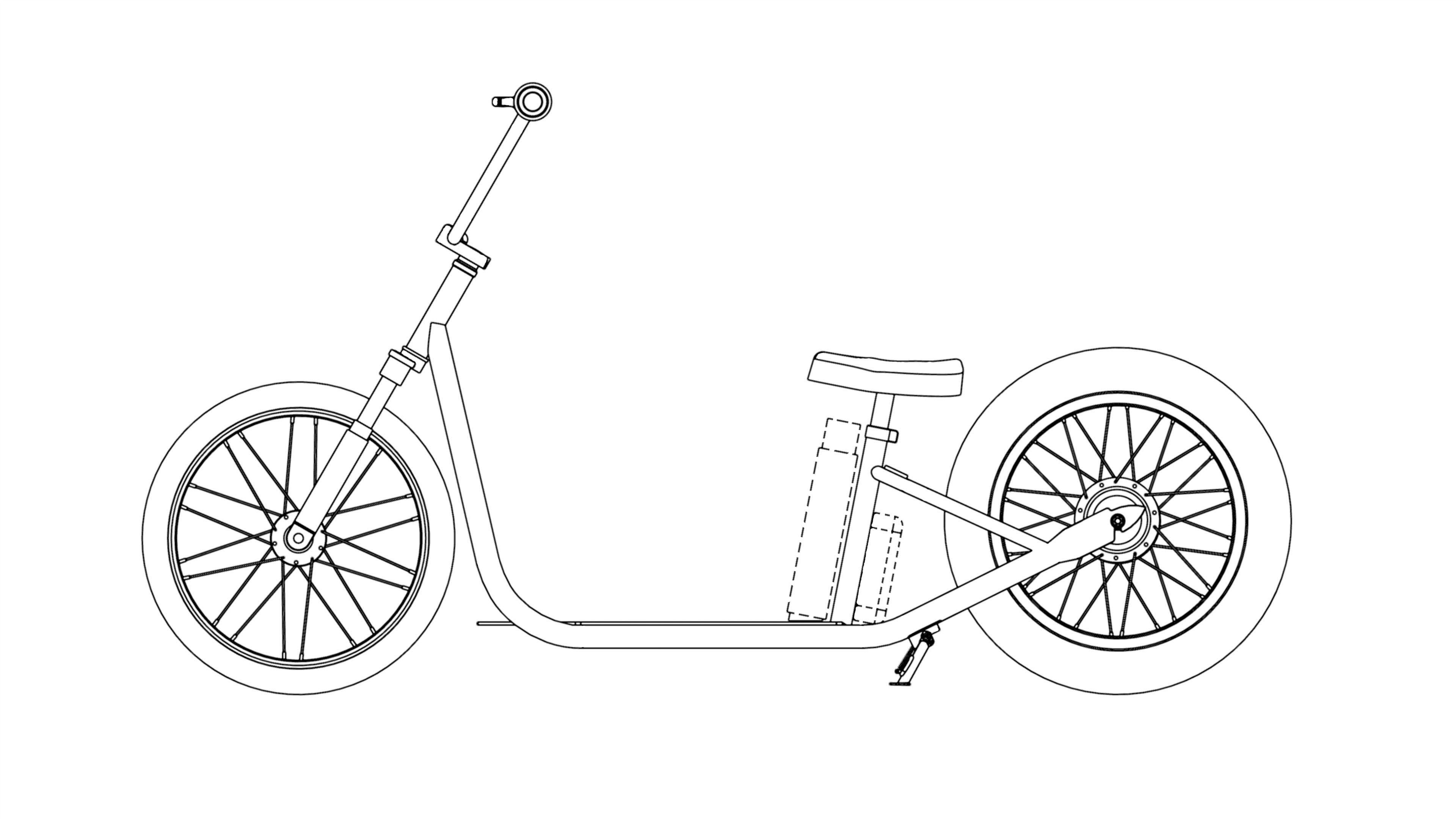 Подготовка электосамоката к патенту по заказу