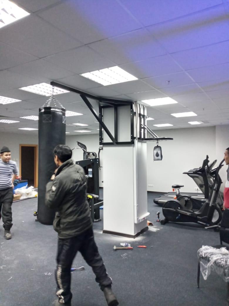 Была поставлена задача подобрать профиль для кронштейна боксерской груши весом 85 кг(с учетом все нагрузок и условии, чт