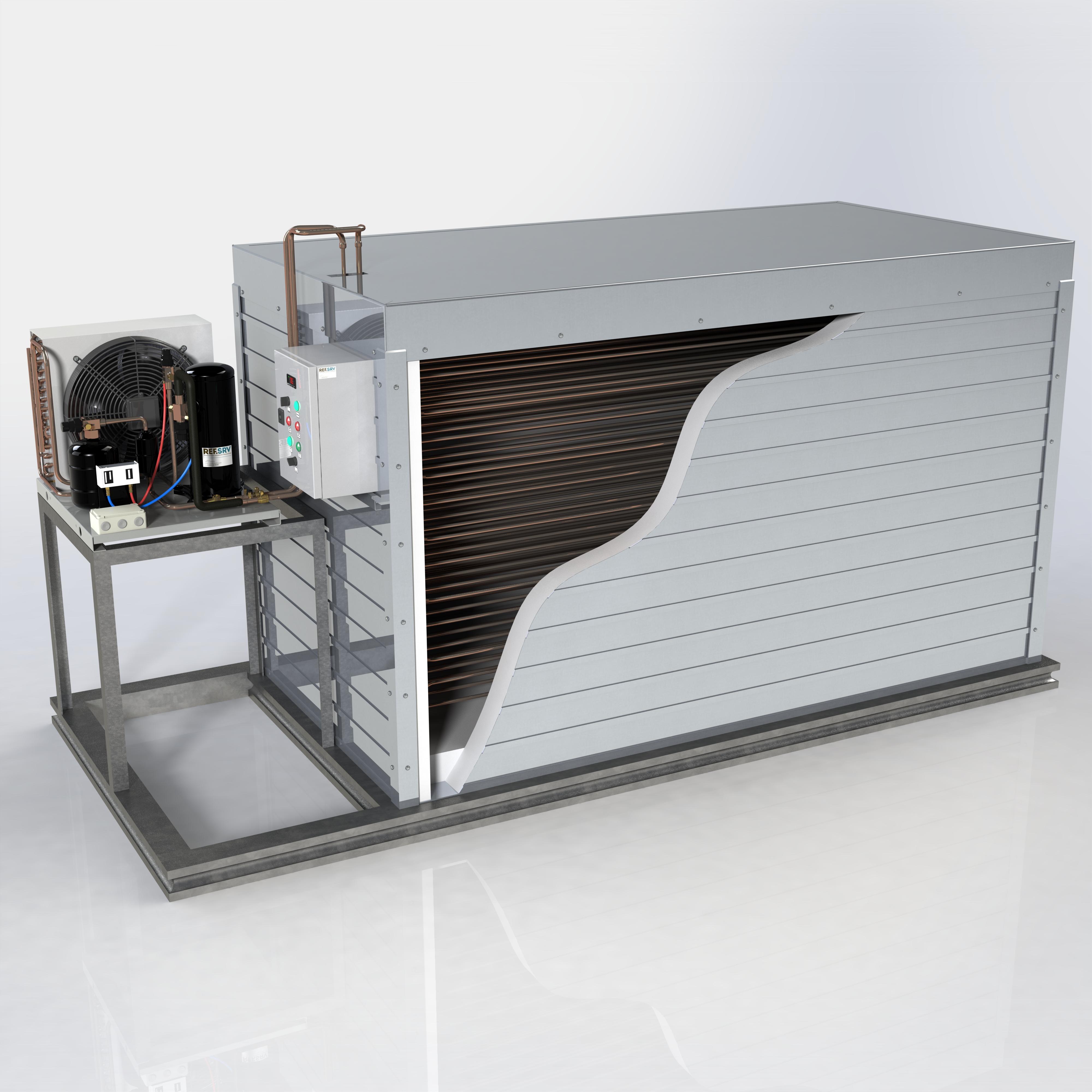 Камера хранения и система охлаждения