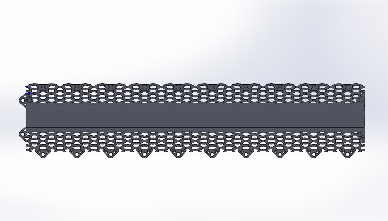 Моделирование плитки(составной) для литья