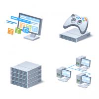 Иконки для компании DDoS-GUARD