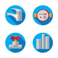 Иконки для сантехнической компании