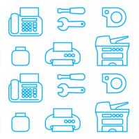 Иконки для компании «СуперЗаправка»