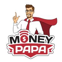 Персонаж и логотип для MoneyPapa