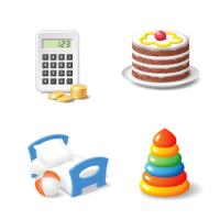 Иконки для ИМ «Заботливый матрас»
