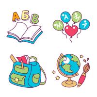 Иконки для детского центра «Фантазия»