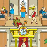 Иллюстрация для календаря ЛК «Неолизинг»