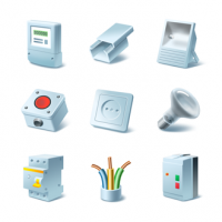 Иконки для ИМ «Мир электрики»