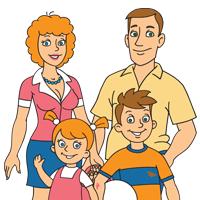 Семья Дружининых