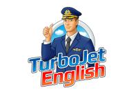 Логотип для курса английского языка «TurboJet English»