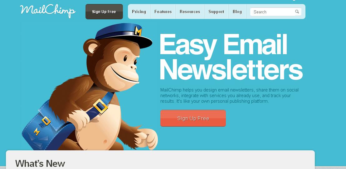API сервиса mailchimp.com