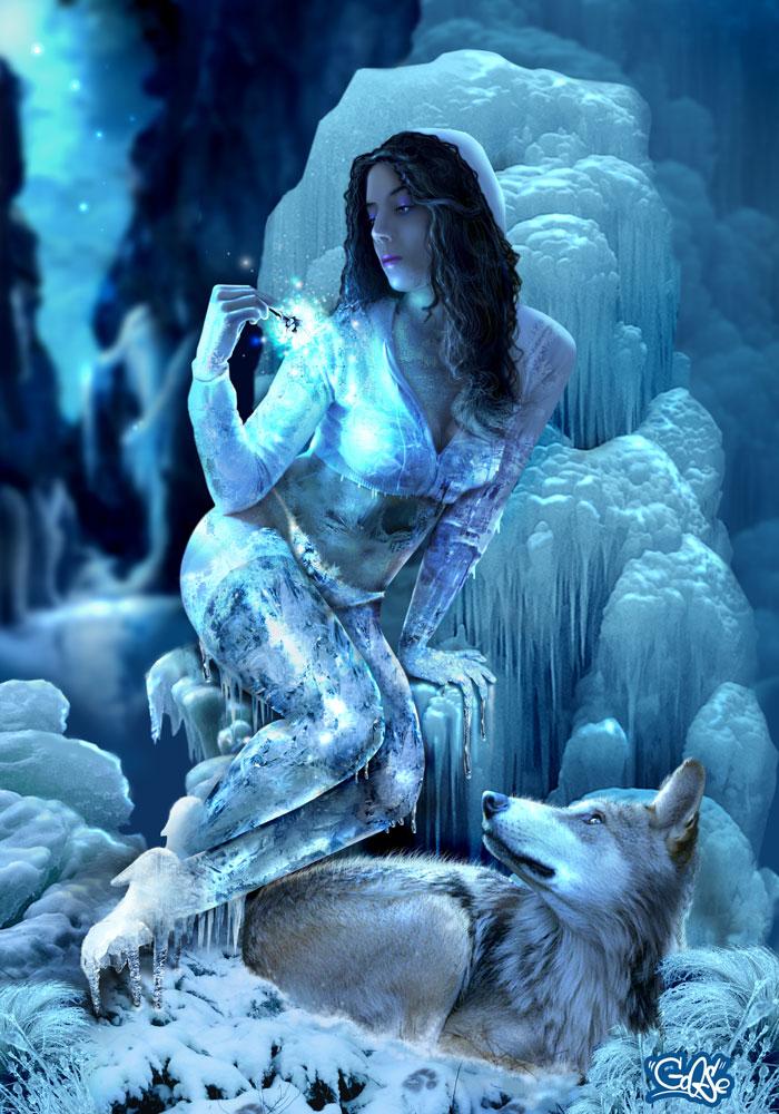 нимфа льда