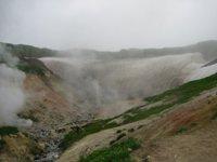 Малая долина гейзеров. Камчатка.