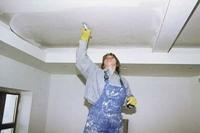 Как самим сделать потолок, гипсокартон.