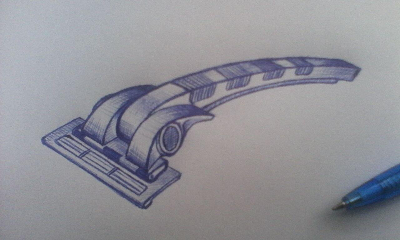 Дизайн бритвенного станка фото f_143590c5d6164276.jpg