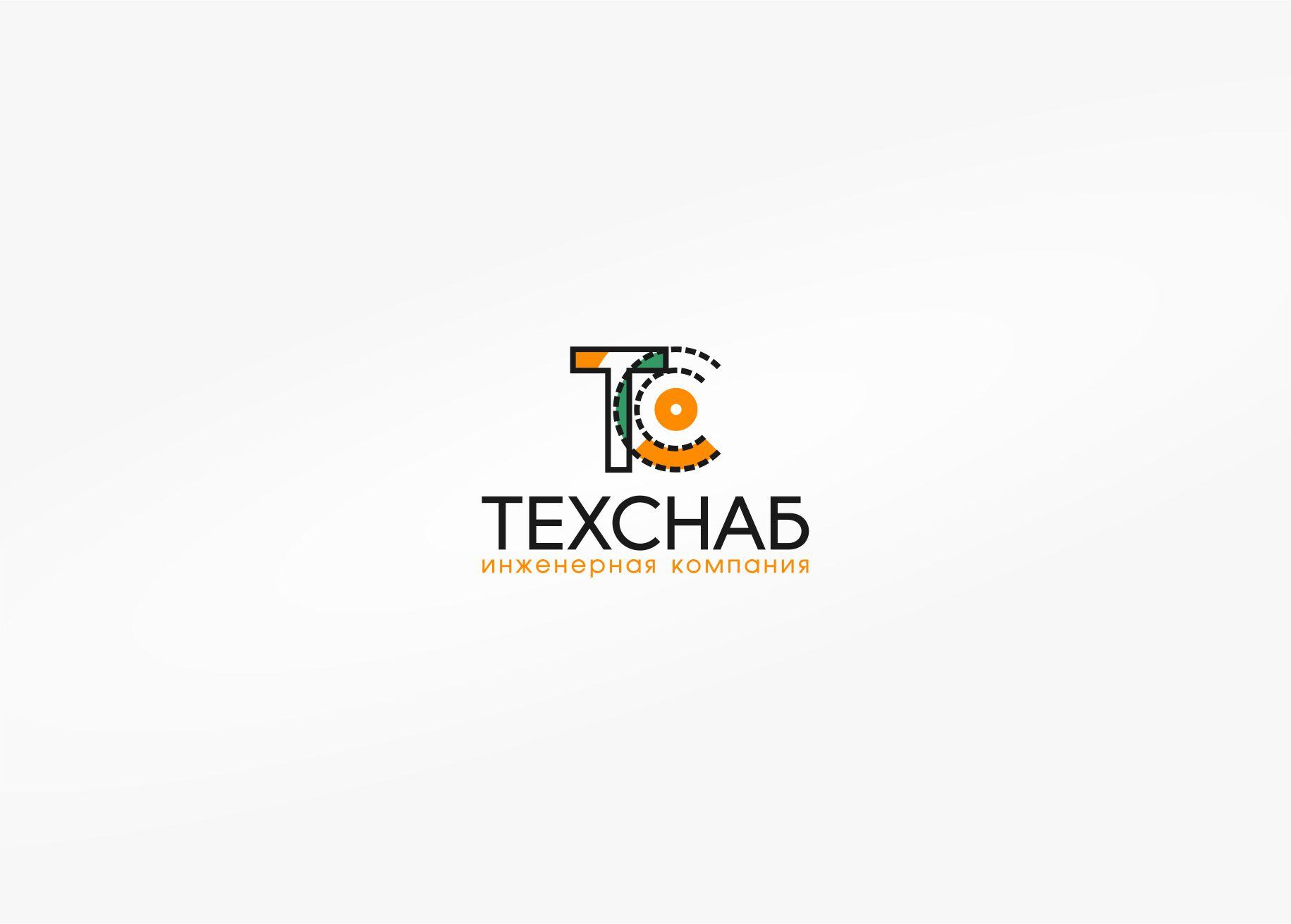 Разработка логотипа и фирм. стиля компании  ТЕХСНАБ фото f_7525b1eb3bfc841b.jpg