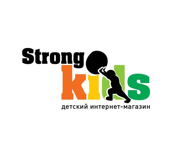 Логотип для Детского Интернет Магазина StrongKids фото f_0785c73e0bd6361a.jpg