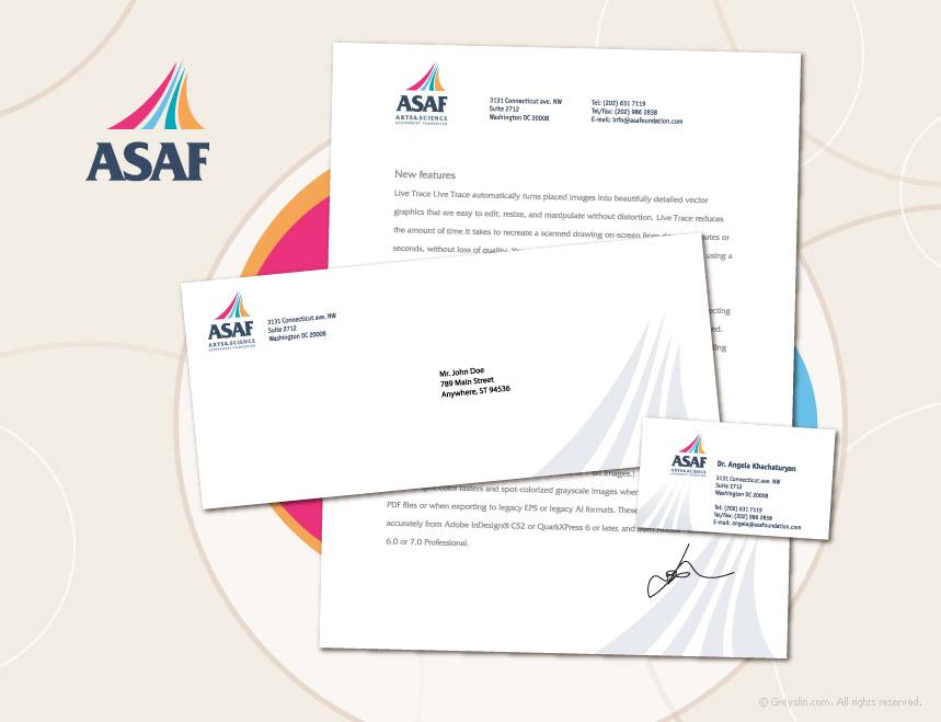 Стиль для ASAF foundation (for Softidentity.com)