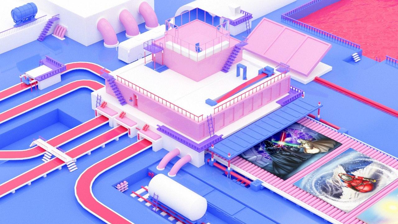 3D локация для игры в ВК