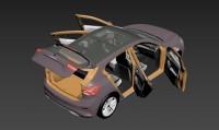 3D модель форда