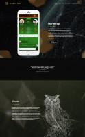 Магнетар - лендинг для мобильной игры