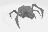 3D анимация паука