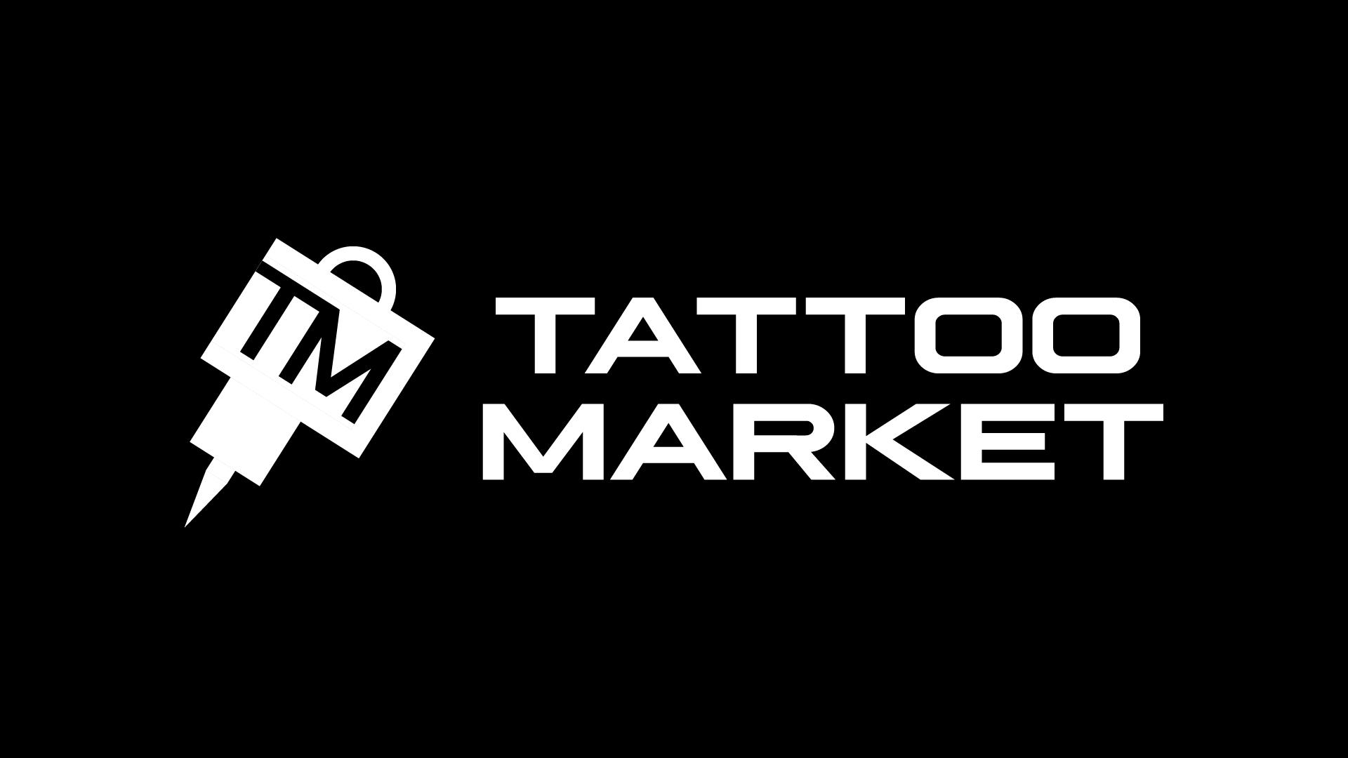 Редизайн логотипа магазина тату оборудования TattooMarket.ru фото f_2535c408c4d575d9.png
