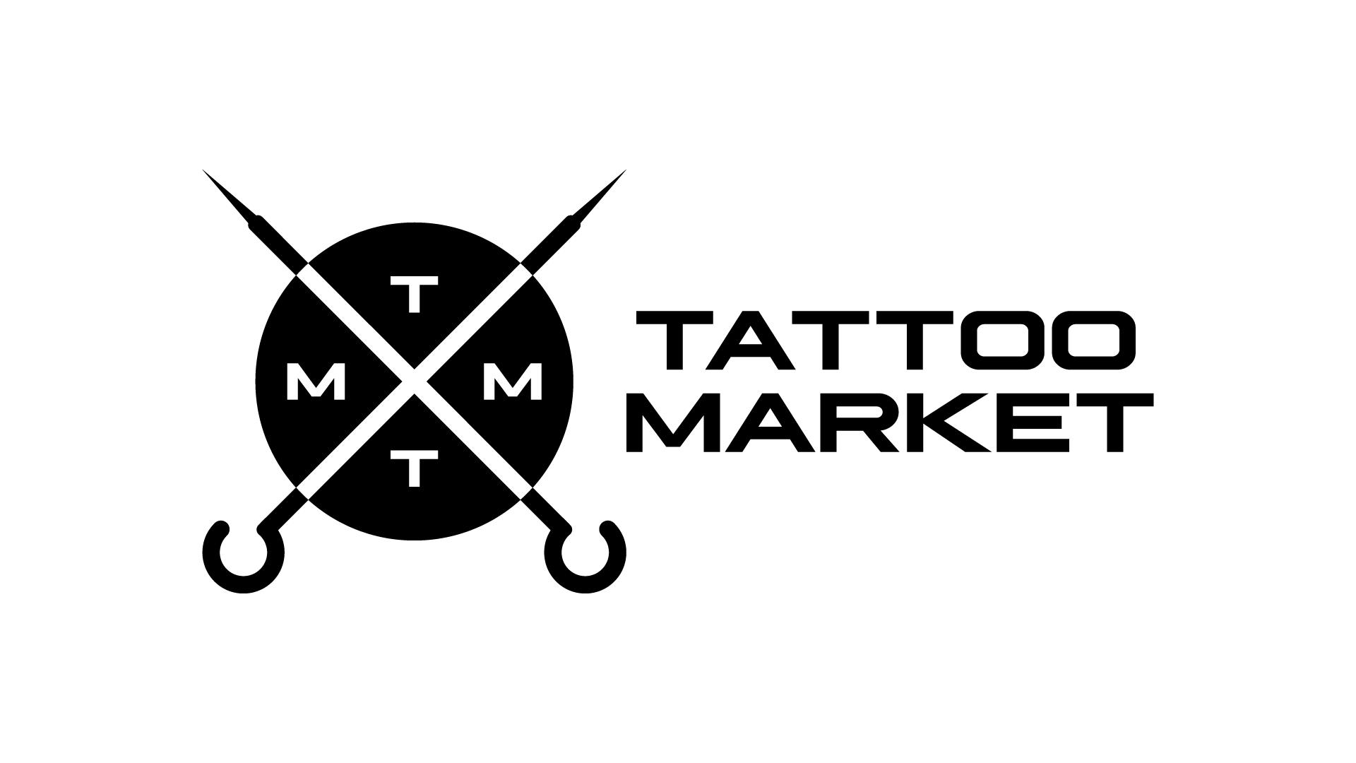 Редизайн логотипа магазина тату оборудования TattooMarket.ru фото f_8175c3d182b0a491.png