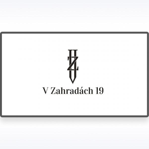 V Zahradach 19 | Logobook