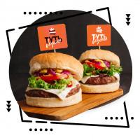 """Логотип для бургер кафе """"Тутъ"""""""