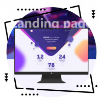 Дизайн лендинга для веб-лаборатории