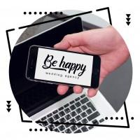 Лого Be happy