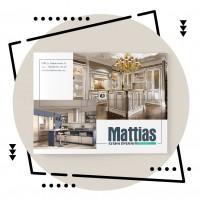 """Дизайн каталога элитных кухонь """"Mattias"""""""