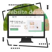 Дизайн сайта для эко сувениров