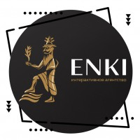 "Логотип для интерактивного агентства ""Enki"""