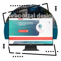"""Дизайн портала для компании """"Санаториум"""""""