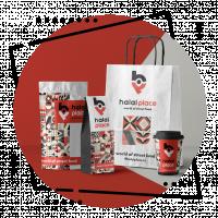 Дизайн фирменного стиля и логотипа для кафе