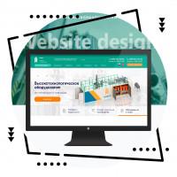 Дизайн сайта для промышленного оборудования