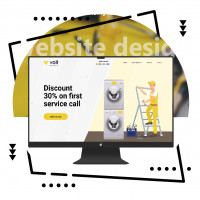 Дизайн сайта по ремонту техники в США