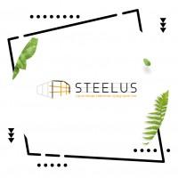 """Логотип для производственной компании """"Steelus"""""""