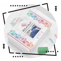 """Дизайн упаковки для постельного белья """"Mileskov"""""""