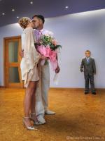 """""""Мама и папа женятся!"""" свадебная фотография"""